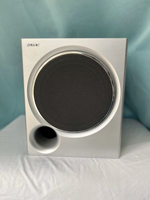 📺🔉Sony Subwoofer Speaker Magnetically Shielded Bass Speaker Silver SS-WMSP67 TF for Sale in Longwood, FL