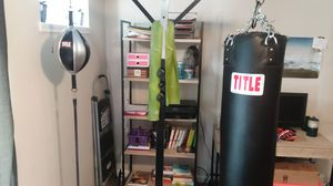 Title Boxing punching and speed bag stand for Sale in Peachtree City, GA