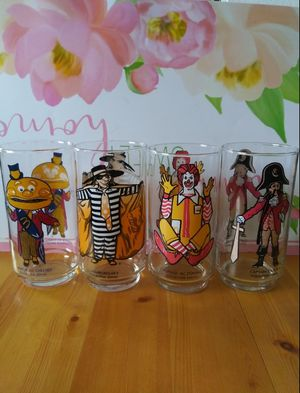 Vintage Mc Donald's Collectible Glasses for Sale in Wilmington, CA