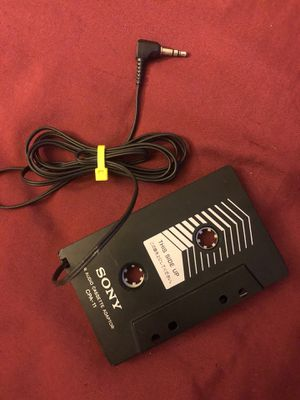 Sony Car Cassette Audio Adaptor for Sale in Virginia Beach, VA