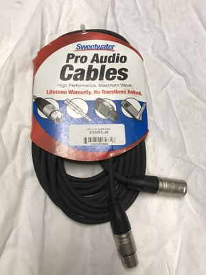 Sweetwater Pro Audio Cables EXMSS-20 for Sale in Queens, NY
