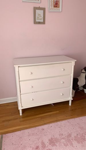 Girls white dresser for Sale in Silver Spring, MD