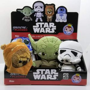 Set of 4 Funko Star Wars Galactic Plushies: Yoda, R2D2, Wicket, Storm Trooper for Sale in Fullerton, CA