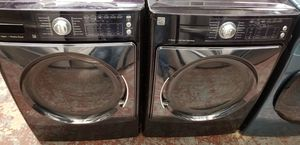 Kenmore elite washer and dryer front load set high capacity for Sale in San Antonio, TX