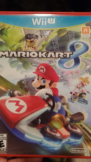 Nintendo wii U Mario Kart 8 for Sale in Miramar, FL