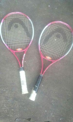 Pair of tennis rackets head pink elite for Sale in Atlanta, GA