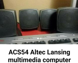 Altec Lansing Computer Speakers with Subwoofer for Sale in Sugar Land,  TX