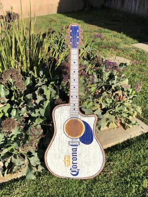 """Corona Extra Beer Bar Wood Sign Guitar """"New"""" Mirror Man Cave for Sale in Montebello, CA"""