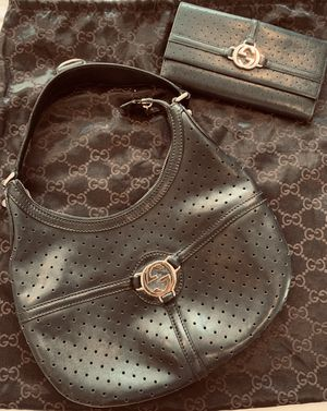 Matching Gucci Bag and Wallet - duster bags included for Sale in Pasadena, CA