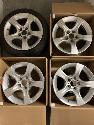 "OEM 17"" BMW Rims (set of 4) fits 2008-2013 for Sale in Seattle, WA"