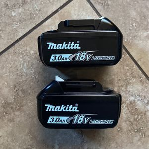 Makita 3.0AH Battery's New for Sale in Sacramento, CA