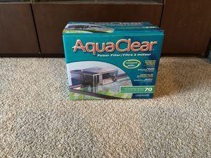AquaClear 70 aquarium filter for Sale in Shoreline, WA