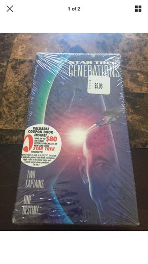 Star Trek Next Generation VHS New for Sale in Fort Lauderdale, FL