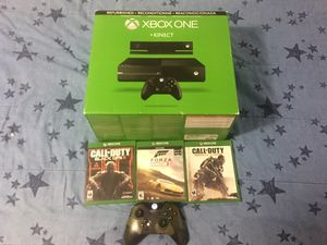 Xbox One ++ Kinect . 500 gigs for Sale in Salt Lake City, UT