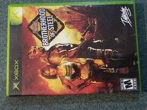 Fallout : Brotherhood of Steel [ Microsoft Xbox ] , Disc w/Case & manual for Sale in Chambersburg, PA