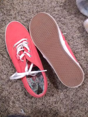 Vans size 7 salmon orange color.. for Sale in Colorado Springs, CO