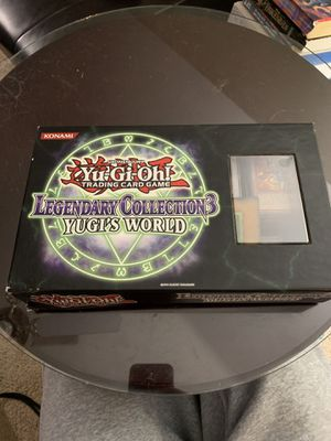 yugioh collection with legendary box for Sale in West Columbia, SC