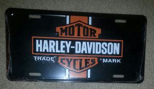 HARLEY DAVIDSON NEW LICENSE PLATE TIN for Sale in Palmdale, CA