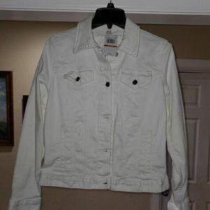 MK White Jean Jacket for Sale in Lathrop, CA