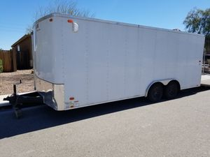 2016 20 ft look cargo box trailer car hauler race trailer for Sale in Queen Creek, AZ