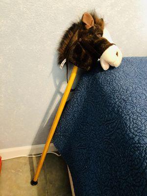 Kids toy stick horse for Sale in Redlands, CA