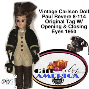 Vintage Dandee Doll The First Americans Paul Revere P01 for Sale in Kissimmee, FL
