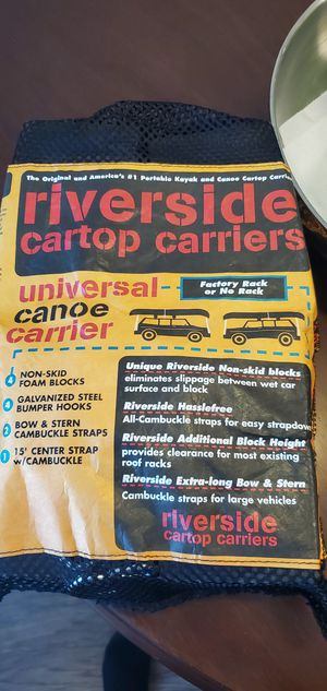 Riverside cartop carrier. for Sale in Vancouver, WA