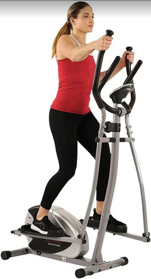 Elliptical Machine Cross Trainer with 8 Level Resistance and Digital Monitor For Home Indoor Workout for Sale in Santa Clarita, CA