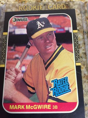 Baseball cards, Mark McGuire 16 Rookie cards $32 for Sale in Los Angeles, CA