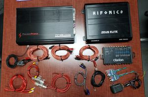 Car audio equipment - Amplifiers and more for Sale in Phoenix, AZ