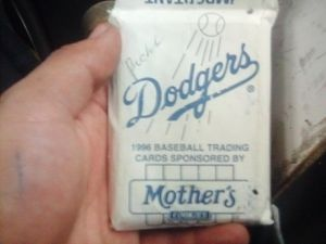 Mother's cookies 1996 base ball trading cards . Perfect condition for Sale in South Gate, CA