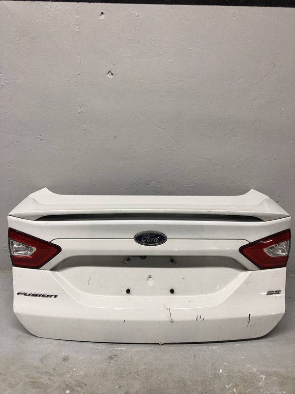 Ford Fusion Parts >> Ford Fusion Parts Used Original Oem Trunk Lid For Sale In Fl Us