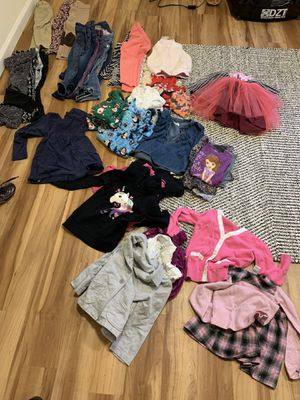 Size 5t girls fall/winter clothes for Sale in Lakewood, CO