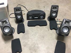 Klipsch quintet 5.0 surround sound speakers for Sale in Glendale, AZ