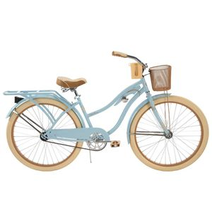 Huffy 26 inch ladies women's cruiser bike with basket and cup holder for Sale in Garden City, MI