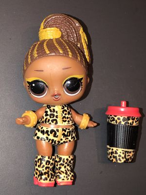 LOL Surprise Doll Fierce Toy Cheetah Outfit Bottle for Sale in Coppell, TX