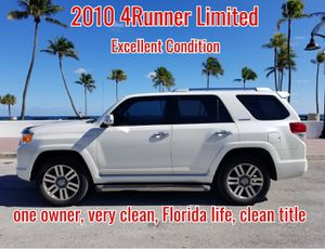 Great Shape! 2010 Toyota 4Runner Limited RWD V6 135,000 clean title one owner in Florida for Sale in Fort Lauderdale, FL