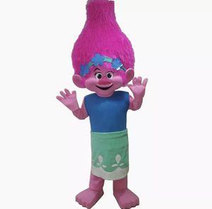 Trolls Poppy Mascot Costume Adult Halloween BIRTHDAY Movie Girl Party Pink for Sale in La Grange Park, IL