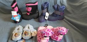 New Girls boots and slippers for Sale in South Attleboro, MA