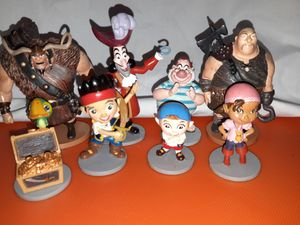 Jack & The Neverland Pirates Figures for Sale in El Monte, CA