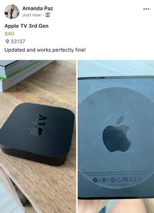 Apple TV 3rd Gen for Sale in Miami, FL