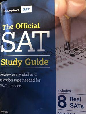 SAT study guide book for Sale in Dinuba, CA