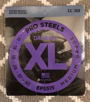 D'Addario EPS515 ProSteels Electric Guitar Strings for Sale in Laurel, MD