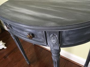 Half Moon Table with a Matching Mirror for Sale in Clarksburg, MD