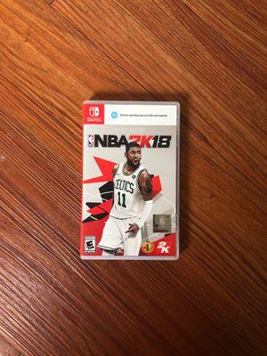 NBA2K18 - Nintendo Switch for Sale in Denver, CO