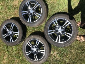 """4 16"""" rims and tires for Sale in Harford, PA"""