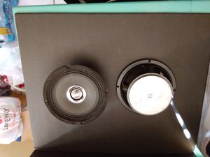 2 6inch pro audio mid bass speakers for Sale in Mesa, AZ