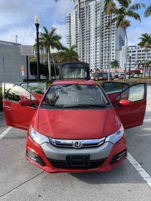 2012 Honda Insight (RED) HatchBack HYBRID for Sale in Miramar, FL