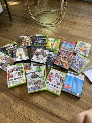 20 games PlayStation 2,Xbox 360,wii for Sale in Escondido, CA