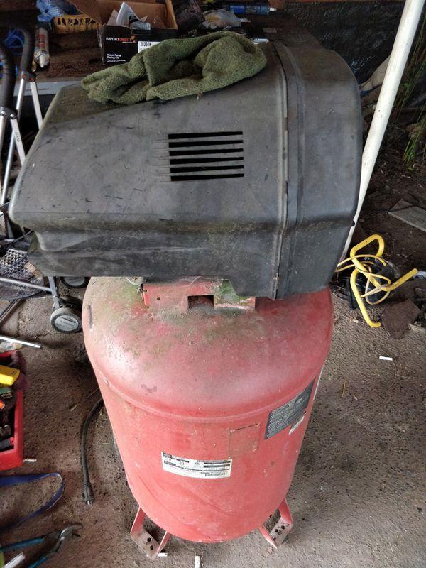 6 hp air compressor craftsman